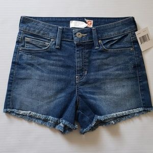 NEW GUESS Teedra High Rise Jean Shorts SZ 27 Boutique